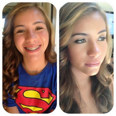 Steps to Apply Makeup for Middle School Students >> http://cutemakeupideass.com/makeup-ideas/makeup-for-middle-school/