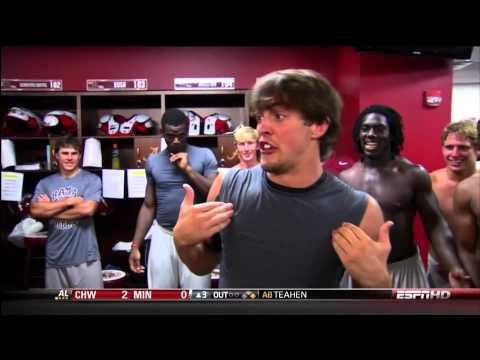 ▶ Rob Ezell imitates Nick Saban (HD) - YouTube. OMG this is hilarious.