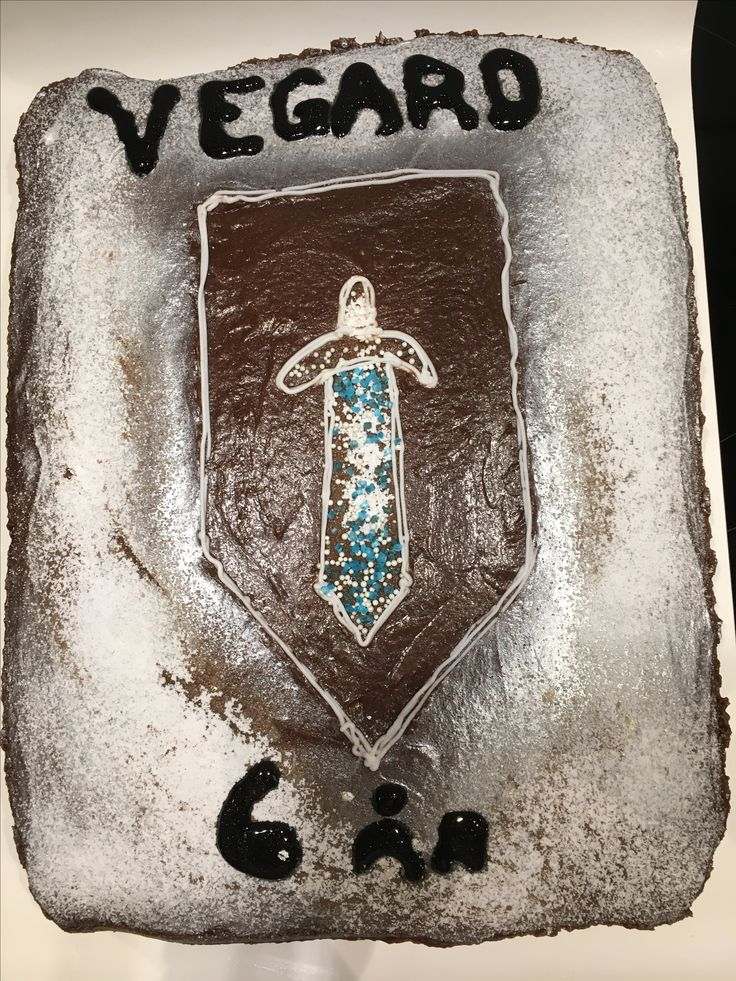 Nexo Knights Power Shield chocolate cake (for family birthday celebration)