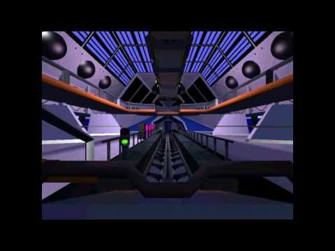 ▶ Disneyland Space Mountain Roller Coaster Tycoon 3 Recreation - Go to You Tube and watch it from the beginning. Someone spends way too much time on this game. I love that he combined two of my favorite things!