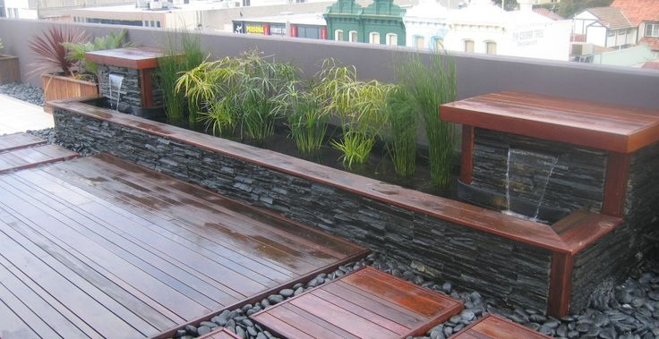 17 best images about water features on pinterest for Garden decking features
