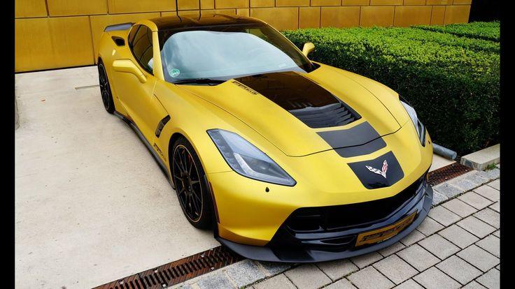 Tuned Chevrolet Corvette C7