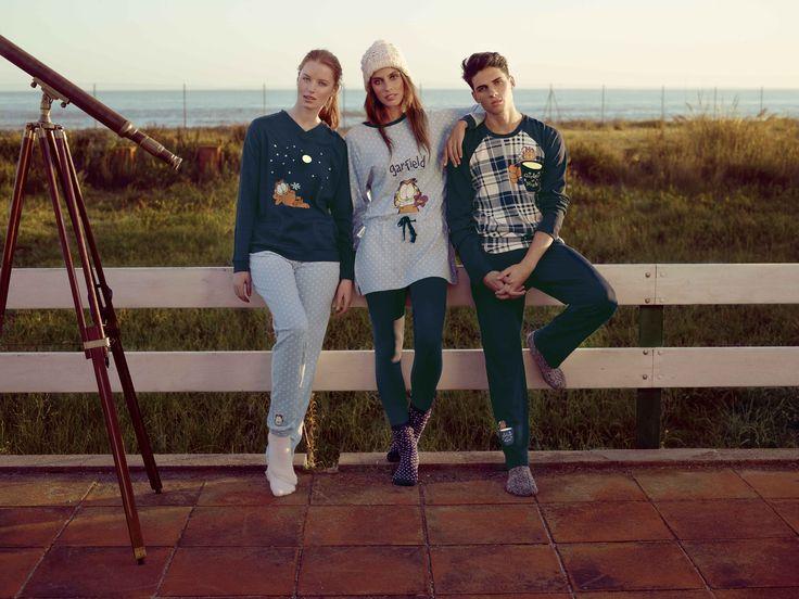 pijama de algodón garfield de invierno - gisela #giselaintimates #sleep #relax #pijama #piyama #fiestadepiyama #descansar #homewear #bed #sueño #home