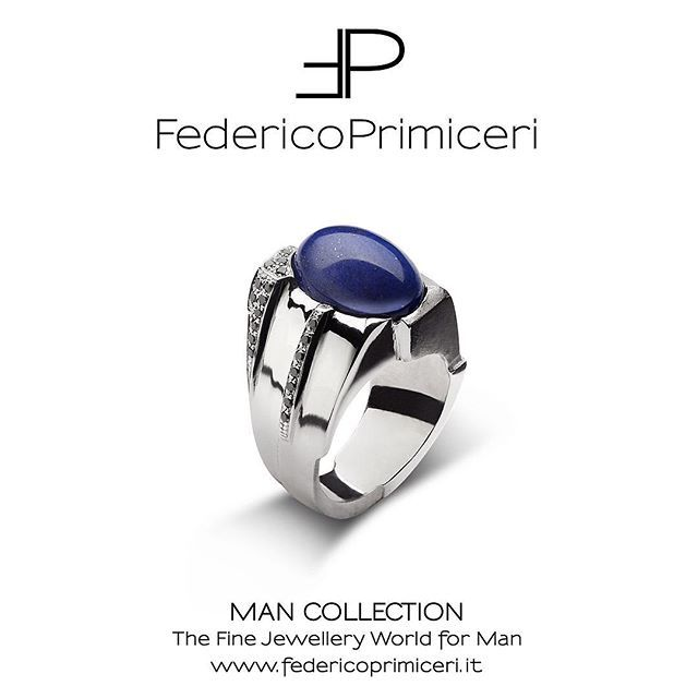 It is the time for...Vanity for Man. The precious ring with black diamonds and oval-cut lapislazzuli is expression of charming passion, gentle elegance and great bravery stated by MAN Collection by @federicoprimiceri_official @federicoprimiceri Available in Florence at @luisaviaroma , in Lecce at Federico Primiceri fine jewellery boutique and online on www.luisaviaroma.com in Men/fine jewellery. #FedericoPrimiceri #ManCollection #LuisaViaRoma #LVR #Florence #Lecce #FineJewellery…