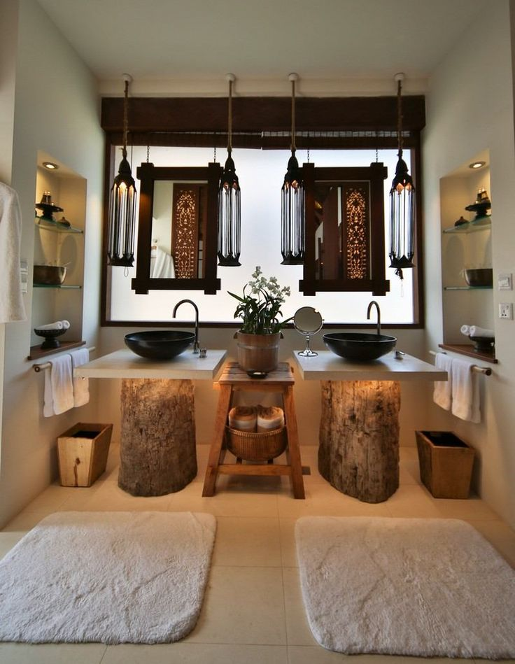 Les 25 meilleures id es concernant troncs d 39 arbres sur for Decoration zen salle de bain