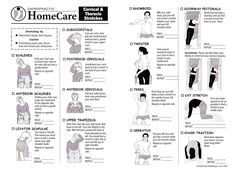 Image result for cervical radiculopathy exercises patient handout