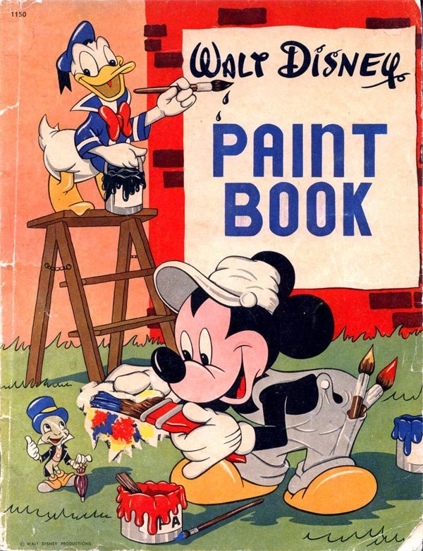 Coloring Books Wish List A Collection Of Classic Disney Productions All Rolled In To One