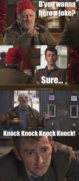 doctor who humor |    But that one was really baaaaad.....