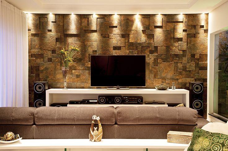 Oxyden - Arq. Felipe Sarno Balladi #metal #tons metalicos #metalicos #cobre #dourado #ouro #corten #oxidado #oxyden #lucce #aco #metallic #piso #design #arquitetura #castelatto #revestimento #decor #sofisticacao #textura #inovacao #floor #revestimento #parede #wall #interioresdesign #style #decoraçãodeinteriores #decordesign #decorando #referencia #decoration #decorlovers #decoracao #archilovers #revestimento #wall #3d #tridimensional #parede3d #wall3d