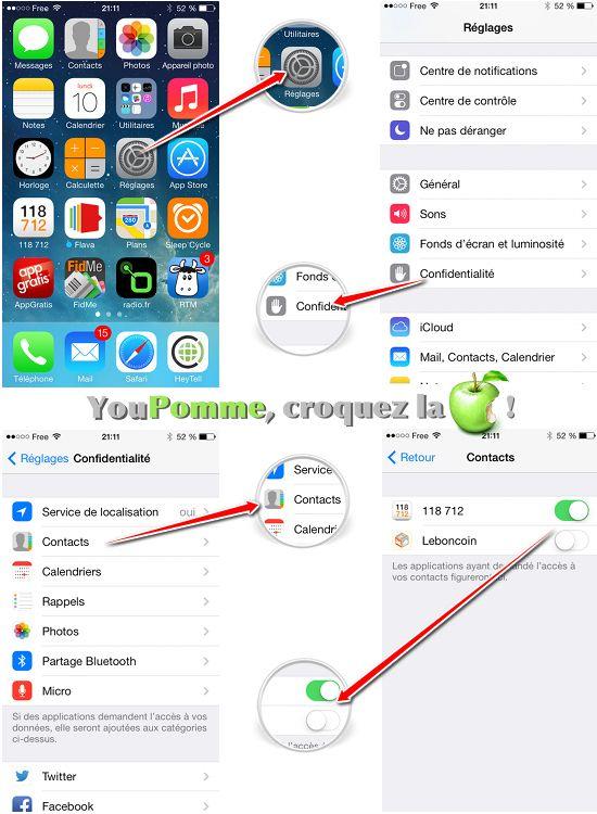 Comment contrôler les paramètres de confidentialité sur iPhone ou iPad [Tutoriel]