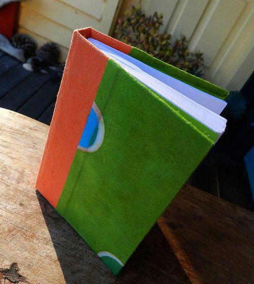 Handmade notebook Material: handmade paper