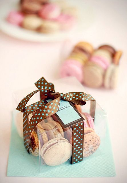 Clear Box For Macaron Gift Giving Random Things