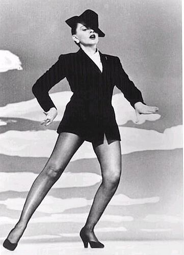 "This week is Judy Garland in the movie ""Summer Stock"" singing & dancing ""Get Happy"". I double-dare you to try and not be happy while watching this infectious routine!"