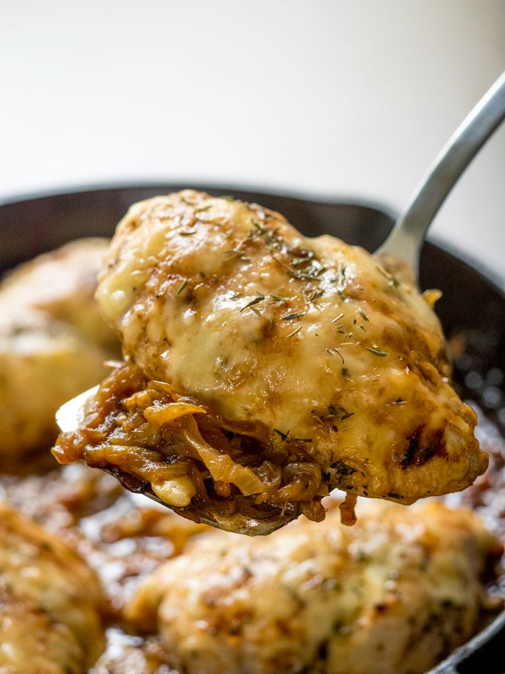 French Onion Chicken Skillet – 12 Tomatoes