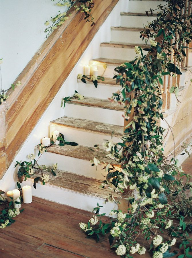 80 best Floral Staircase images on Pinterest 1920s party