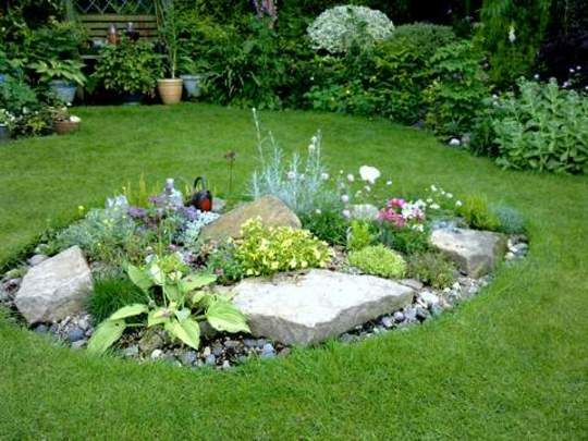 13 best rockery garden images on pinterest rockery for Garden design ideas short wide