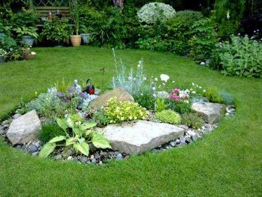 rockery ideas - Google Search | Garden Ideas | Pinterest ...