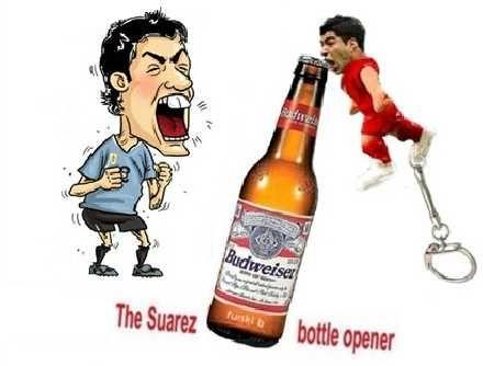 Chinese Internet Entrepreneurs List Luis Suarez Biting Bottle Opener Keychains ... see more at InventorSpot.com