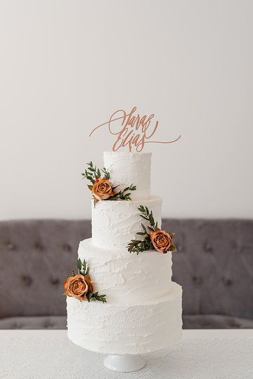 Goldmarie Cake Topper * shop.gold-marie.at * Photo from Copper themed wedding collection by Marie Bleyer Fotografie
