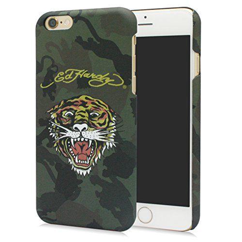 "Ed Hardy iPhone 6 plus Case 5.5'' Coque Housse Etui Shock-Absorption Back pour Apple iPhone 6 plus 5.5 pouce -""Bruce Tiger Grey Camo"" Christian Audigier Choicee x Ed Hardy http://www.amazon.fr/dp/B00OPQJO52/ref=cm_sw_r_pi_dp_5tFrub0C1QW6B"