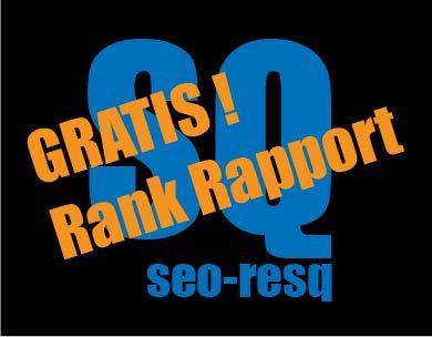 GRATIS! SEO Rank Rapport door seo-resq.