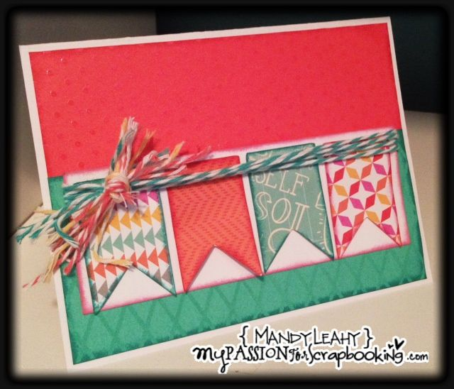 Card Making Ideas Scrapbooking Part - 26: Close To My Heart Card By Mandy Leahy Using CTMH Dream Pop Paper