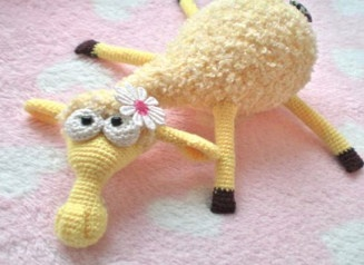 Free Dolly the Sheep Crochet Pattern
