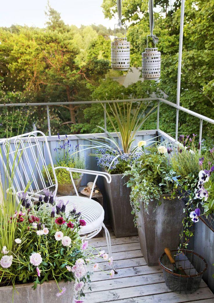Iloisen värikäs parveke – 8 luovaa ideaa   Meillä kotona