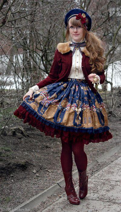Lucky Key Angelic Pretty Classic Lolita Coord