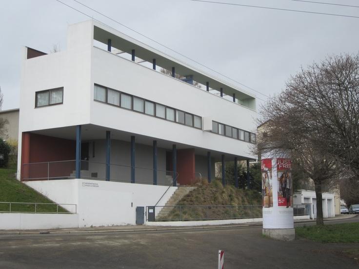 1000 images about bauhaus the weissenhof estate stuttgart for Stuttgart architecture