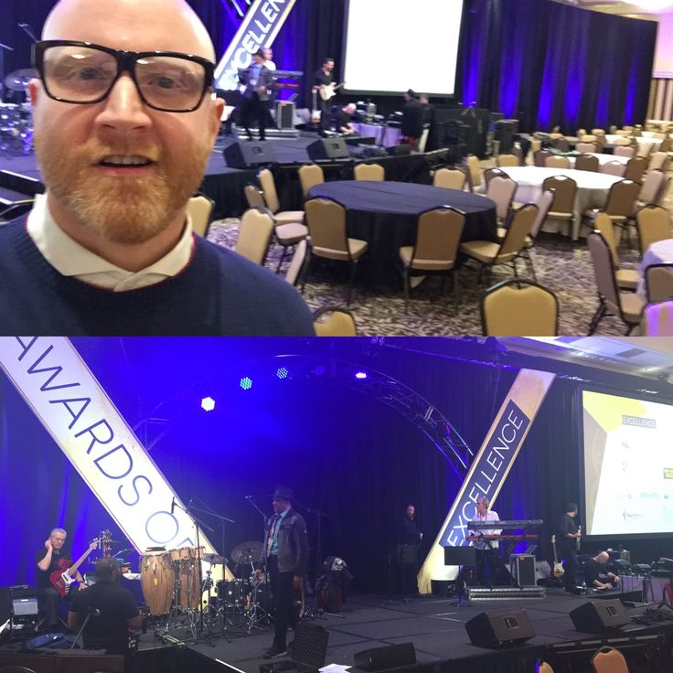 Sound check #1 for tonight's big #NatCon17 Awards of Excellence show. See you in a bit, Seattle!  #LoganLynn #Seattle #NationalCouncil #Awards #PDXmusic #MentalHealthMatters #KeepOregonWell