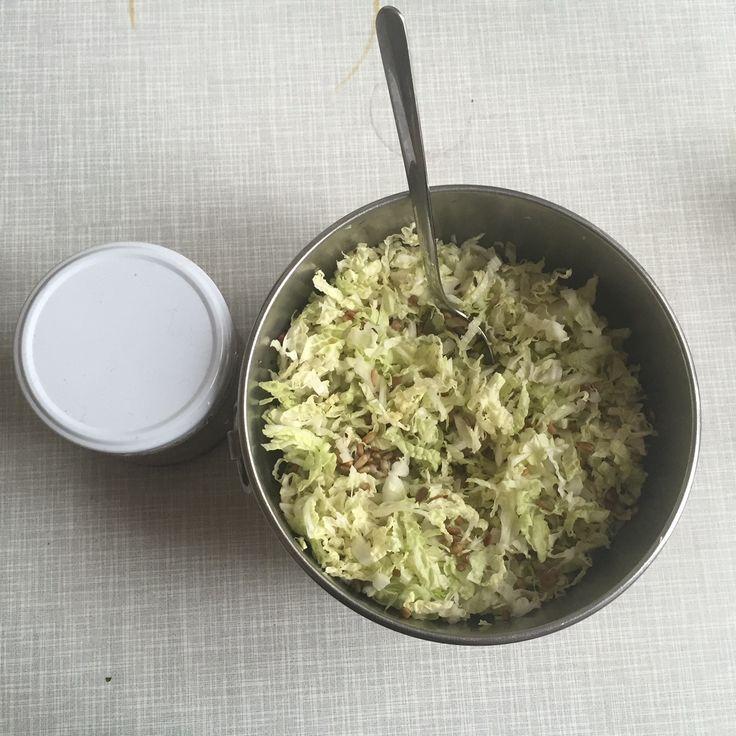 Chinese cabbage slaw thinly chop one medium chinesenapa