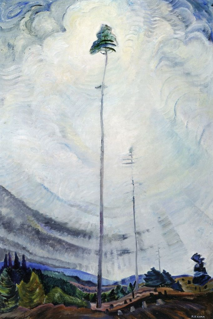 Scorned as Timber, Beloved by Sky, 1935. Emily Carr.