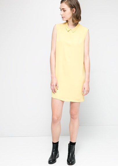 Shirt collar dress