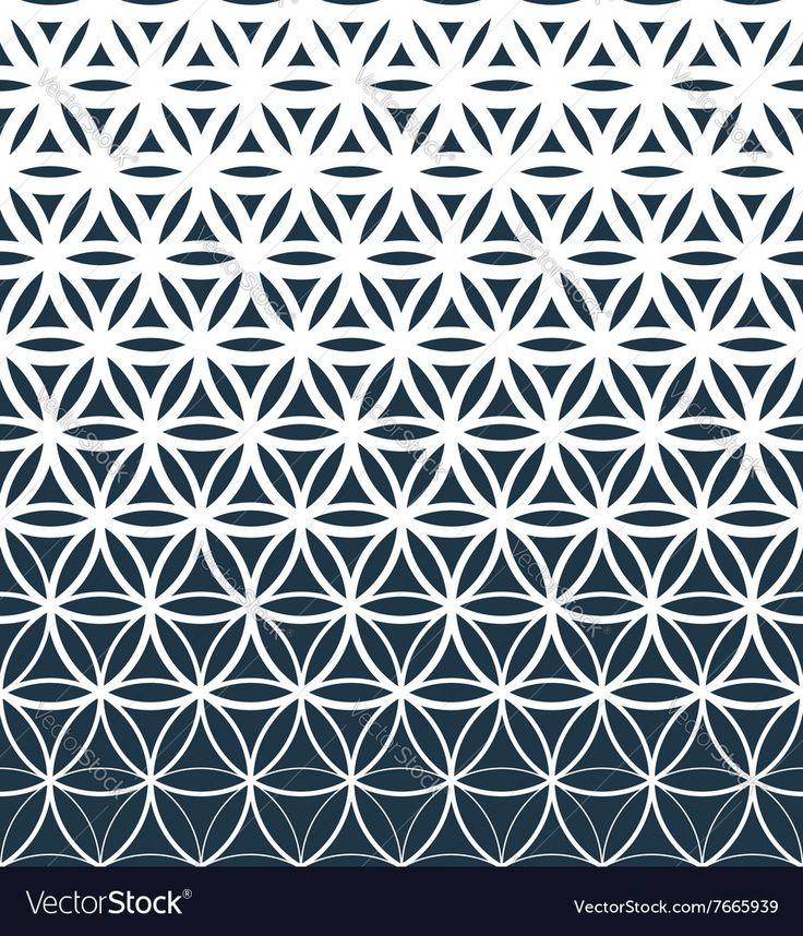 Geo Flower Stencils : Resultado de imagen para gradient pattern ideas tatto