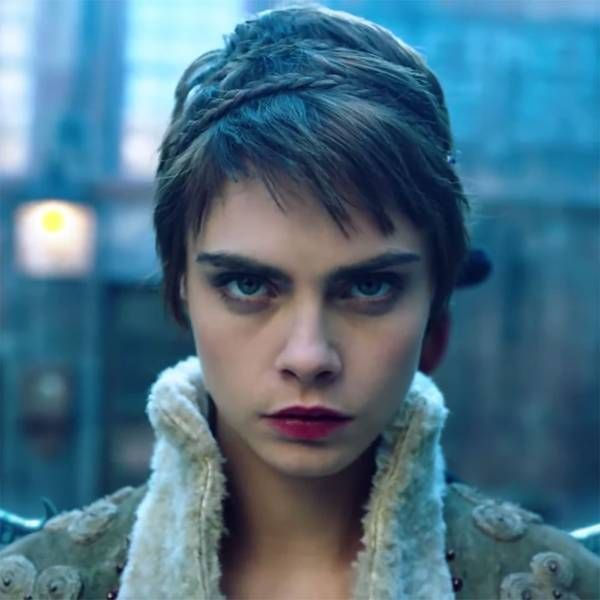 First Look Cara Delevingne Spreads Her Wings For New Amazon