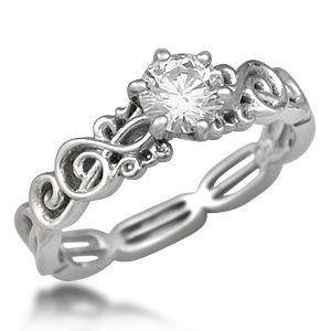 I swore I'd never pin wedding things. BUT. This is the engagement ring that I want. future husband: take note.