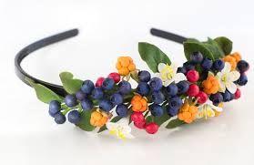 ободки с цветами и ягодами - Поиск в Google