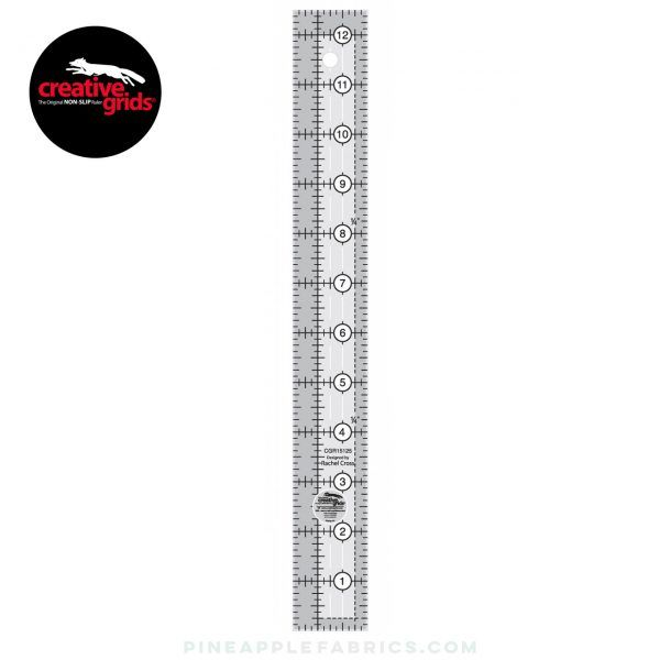Creative Grids Quilt Ruler 3-1//2in Square