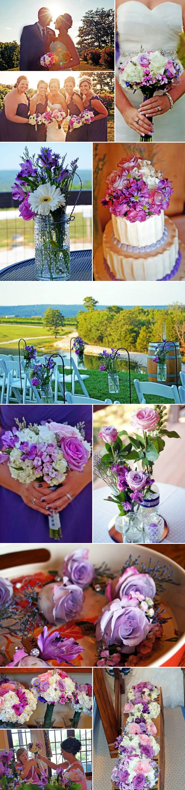 Holiday arrangements wholesale bulk flowers fiftyflowers - Featured Fiftyflowers Review Purple Wildflower Romance Http Blog Fiftyflowers