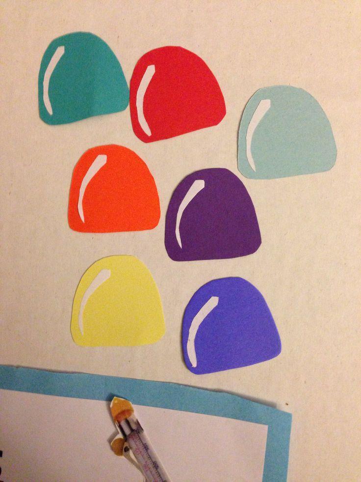 Construction Paper Gumdrops