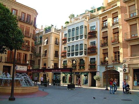 La Plaza de las flores, Murcia :') ... <3