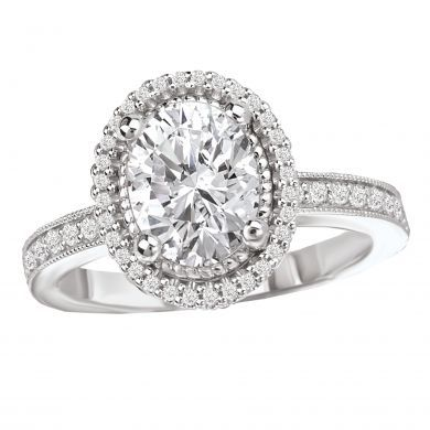 Bling to the max! Would you say yes to this stunner?