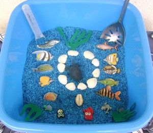 Ocean Themed Sensory Tub