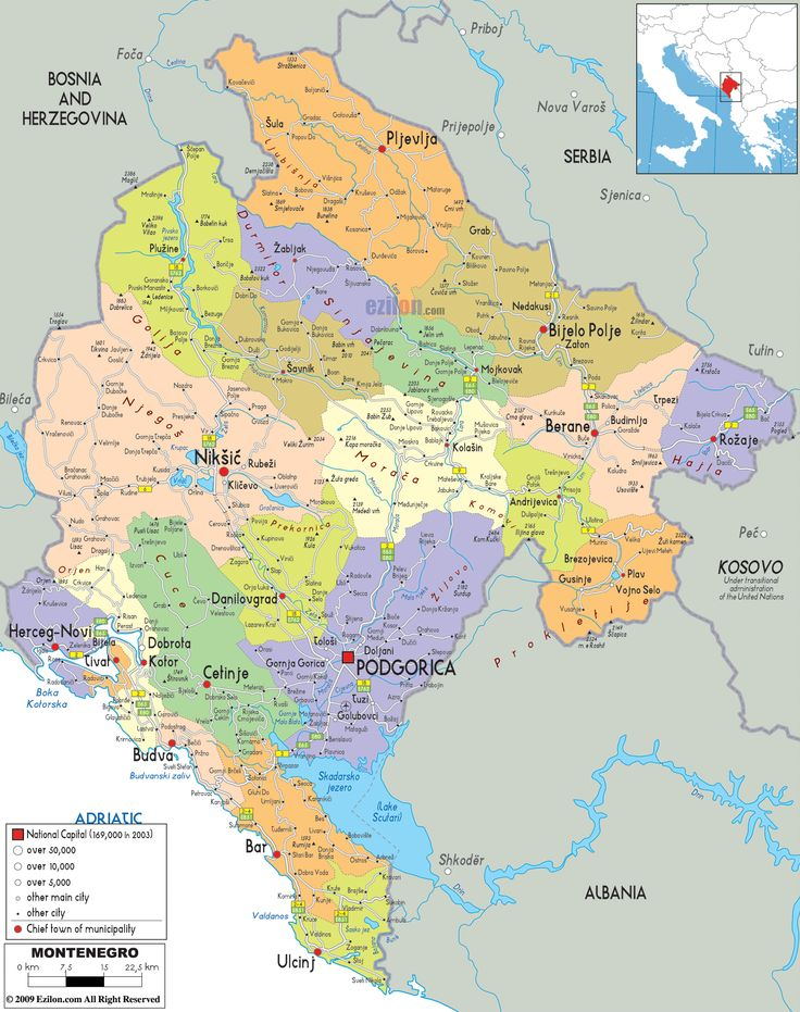 Best Map Of Montenegro Ideas On Pinterest Map Of Slovenia - Political map of albania