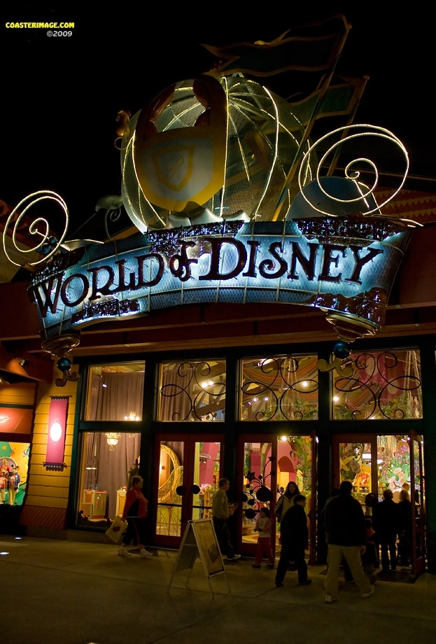 *DOWN TOWN DISNEY WORLD. I could go broke shopping in here, they have anything that you could ever want and then some.