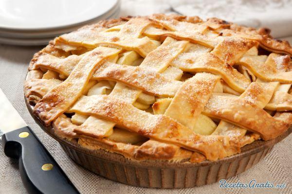 Receta de Kuchen de manzana fácil y rápido - Fácil
