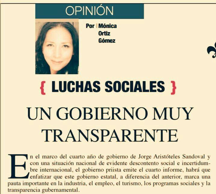 CONCIENCIA PUBLICA LUCHAS SOCIALES Gobierno muy transparente por: @licmonicaortiz https://t.co/qEWrrqChWP  #GDL #Guadalajara #JAL #JALISCO https://t.co/a2y8Rki7G1