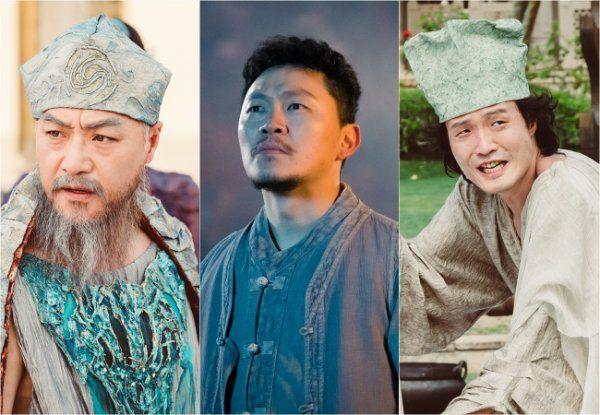 """""""Bride of the Water God 2017"""" Lee Kyeong-yeong, Yang Dong-geun and Jo Jung-chi @ HanCinema :: The Korean Movie and Drama Database"""