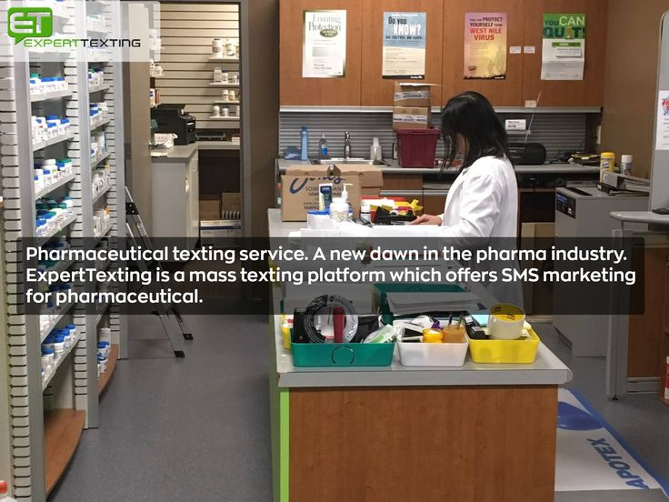 Pharmaceutical texting service. A new dawn in the pharma industry. ExpertTexting is a mass texting platform which offers SMS marketing for pharmaceutical.